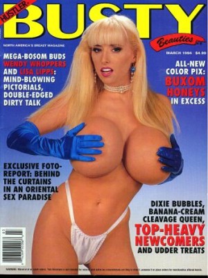 Hustler's Busty Beauties - March 1994