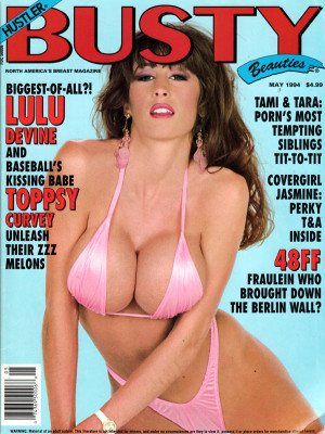 Hustler's Busty Beauties - May 1994