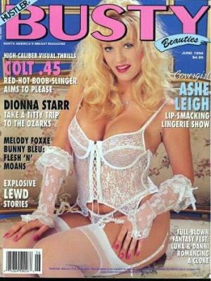 Hustler's Busty Beauties - June 1994
