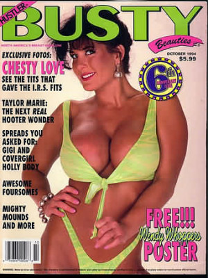 Hustler's Busty Beauties - October 1994