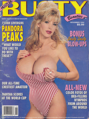 Hustler's Busty Beauties - November 1994