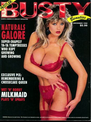 Hustler's Busty Beauties - December 1994