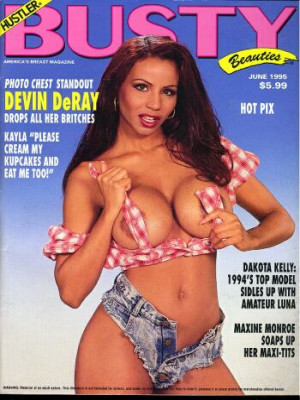 Hustler's Busty Beauties - June 1995