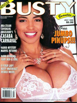 Hustler's Busty Beauties - July 1995