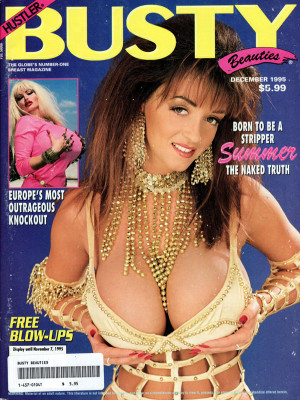 Hustler's Busty Beauties - December 1995