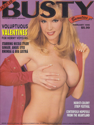 Hustler's Busty Beauties - February 1996