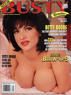 Hustler's Busty Beauties - April 1996