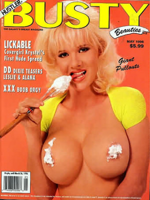 Hustler's Busty Beauties - May 1996