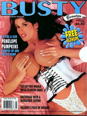 Hustler's Busty Beauties - August 1996