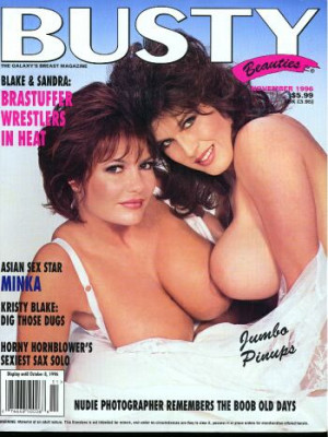 Hustler's Busty Beauties - November 1996