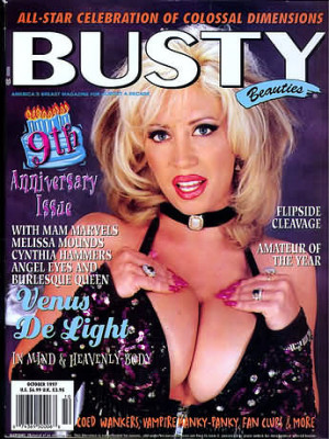 Hustler's Busty Beauties - October 1997