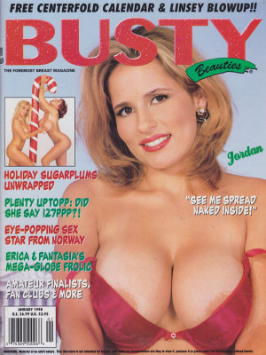 Hustler's Busty Beauties - January 1998