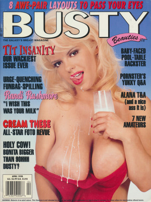 Hustler's Busty Beauties - April 1998