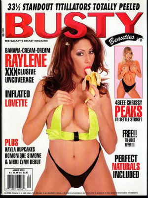 Hustler's Busty Beauties - August 1998