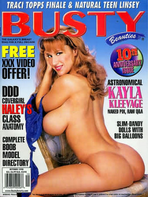 Hustler's Busty Beauties - October 1998