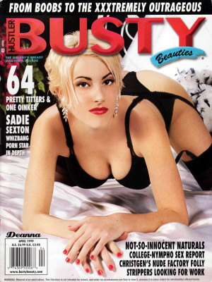 Hustler's Busty Beauties - April 1999