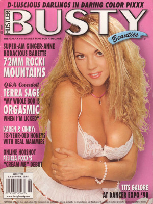 Hustler's Busty Beauties - June 1999