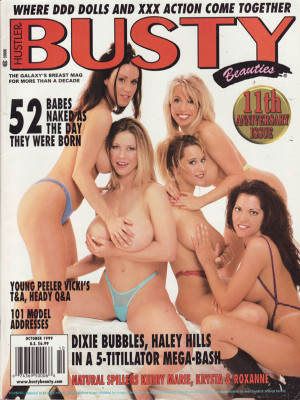 Hustler's Busty Beauties - October 1999