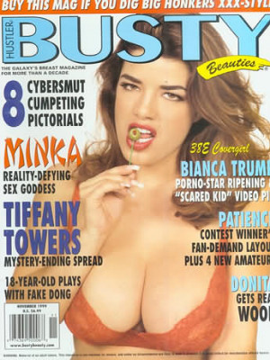 Hustler's Busty Beauties - November 1999