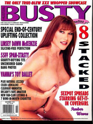 Hustler's Busty Beauties - December 1999