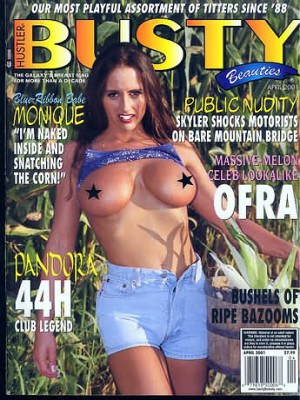 Hustler's Busty Beauties - April 2001