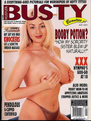 Hustler's Busty Beauties - May 2001