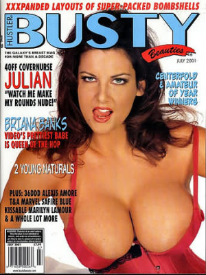 Hustler's Busty Beauties - July 2001