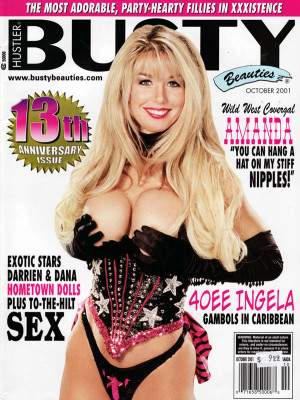Hustler's Busty Beauties - October 2001