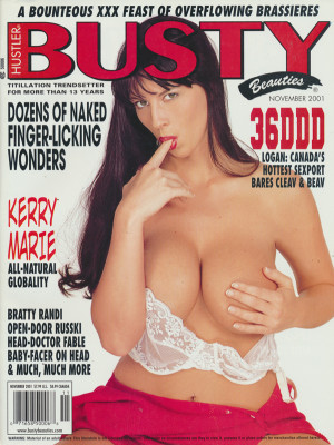 Hustler's Busty Beauties - November 2001
