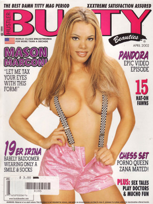 Hustler's Busty Beauties - April 2002