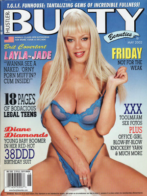 Hustler's Busty Beauties - May 2002