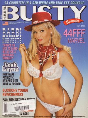 Hustler's Busty Beauties - July 2002