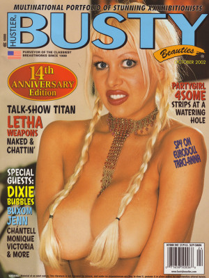 Hustler's Busty Beauties - October 2002