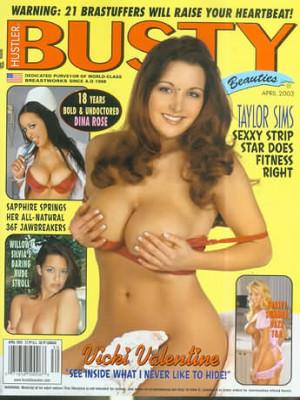 Hustler's Busty Beauties - April 2003