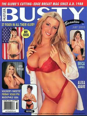 Hustler's Busty Beauties - July 2003