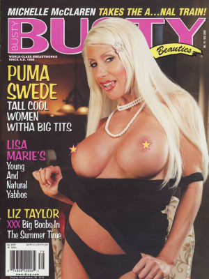 Hustler's Busty Beauties - December 2009