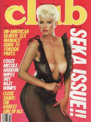 Club Magazine - February 1986