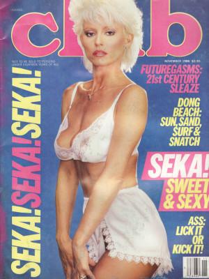 Club Magazine - November 1986