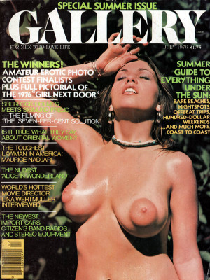 Gallery Magazine - July 1976