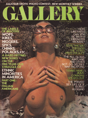 Gallery Magazine - September 1976