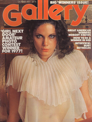 Gallery Magazine - October 1977