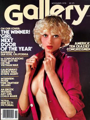 Gallery Magazine - November 1978