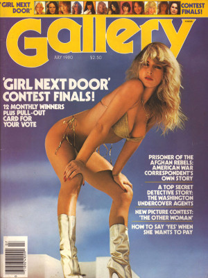 Gallery Magazine - July 1980