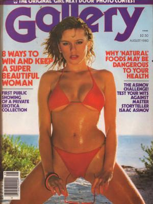 Gallery Magazine - August 1980