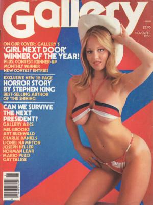 Gallery Magazine - November 1980