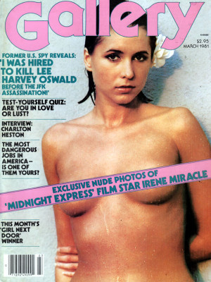 Gallery Magazine - March 1981