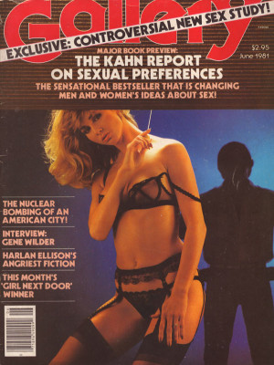Gallery Magazine - June 1981
