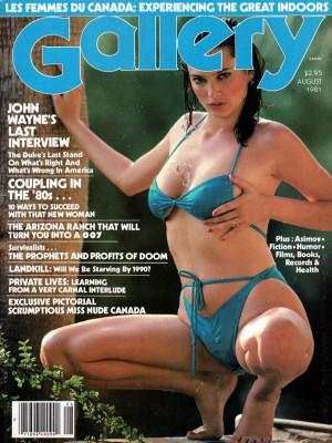 Gallery Magazine - August 1981