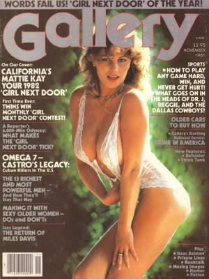 Gallery Magazine - November 1981