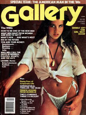 Gallery Magazine - January 1982